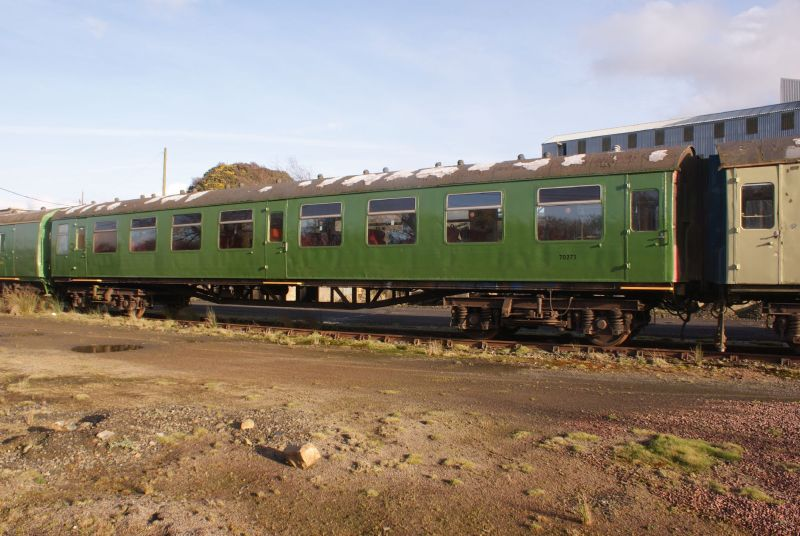 Ex 4-CEP TSO 70273 at Meldon yard in an earlier guise.