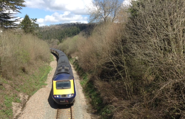 The HST charter north of Kings Nympton