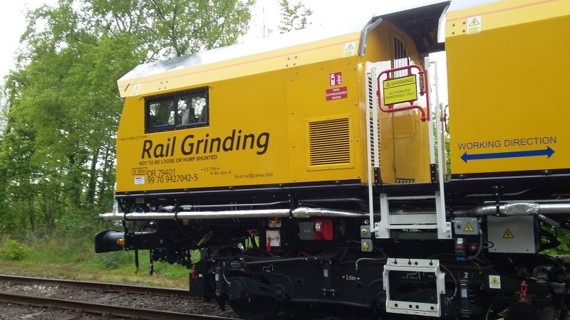 Railgrinder on the DR