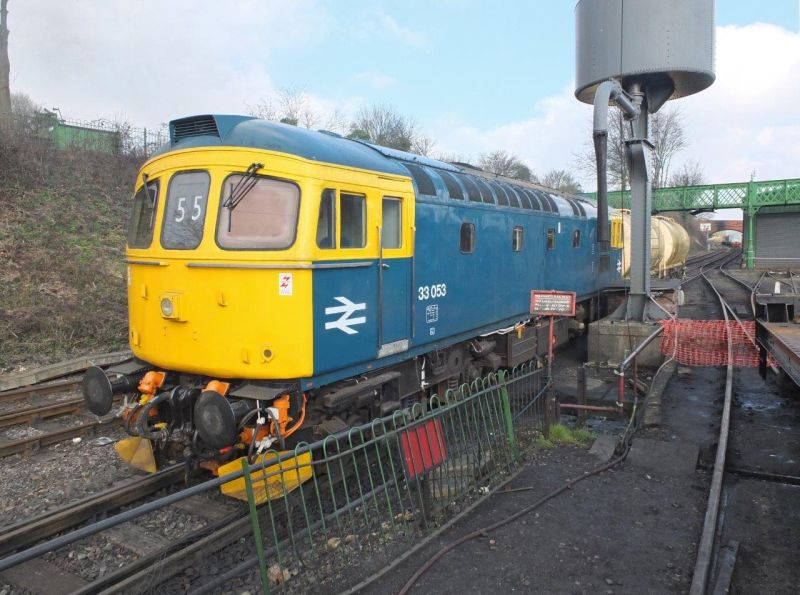 Class 33 33053 at Ropley
