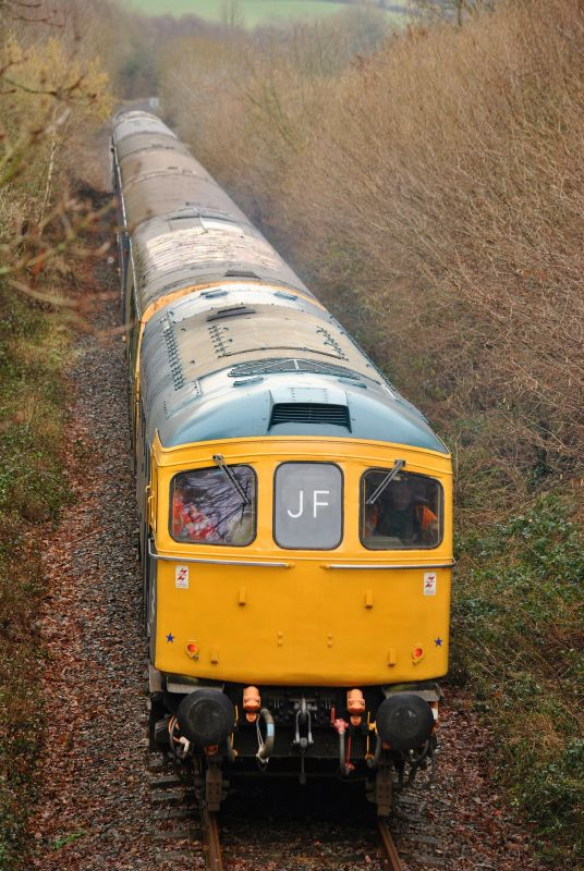 33035 near the boundary with Network Rail