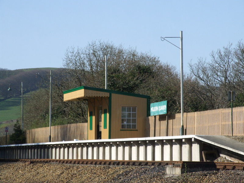 Meldon Quarry Station