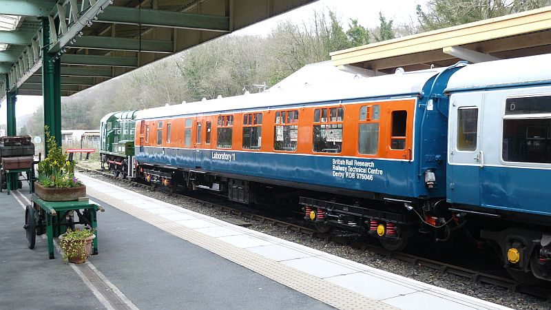 Lab11 at Okehampton, ready for service at Easter 2015